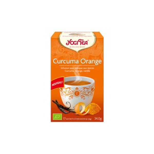 Yogi Tea Curcuma Orange 17 Sachets