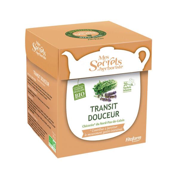 Mes Secrets d'Herboriste Infusion Transit Douceur Bio 20 sachets