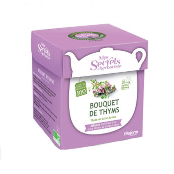 Mes Secrets d'Herboriste Infusion Bouquet de Thyms Bio 20 sachets