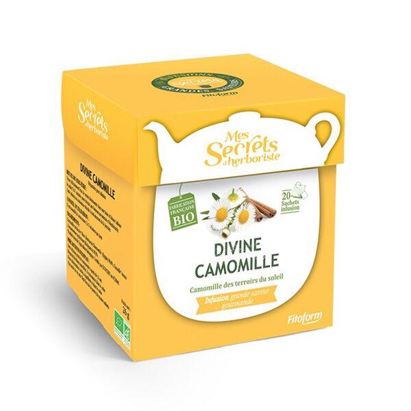 Mes Secrets d'Herboriste Infusion Divine Camomille Bio 20 sachets
