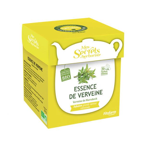 Mes Secrets d'Herboriste Infusion Essence de Verveine Bio 20 sachets