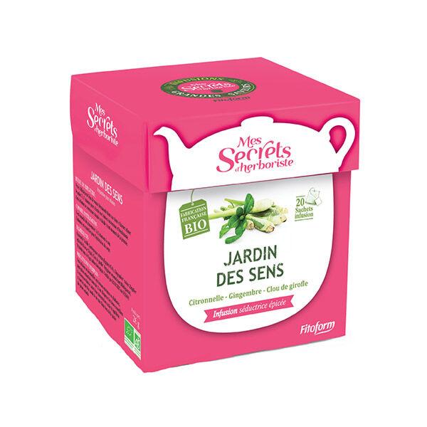 Mes Secrets d'Herboriste Infusion Jardin des Sens Bio 20 sachets