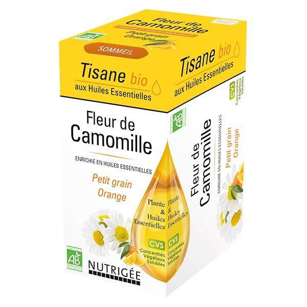 Nutrigée Infusion Bio Fleur de Camomille 20 sachets