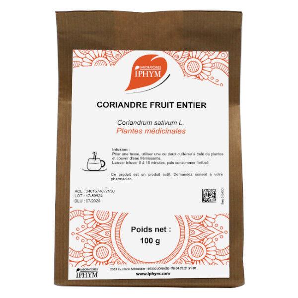 Iphym Vrac Coriandre Fruit Entier 100g