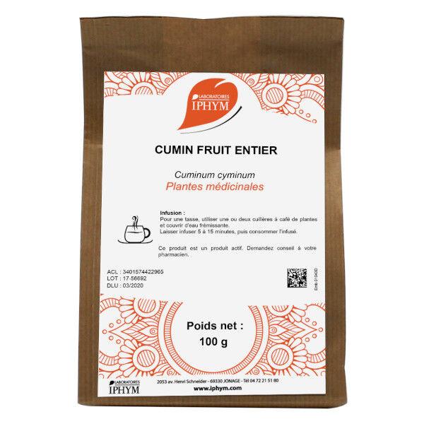 Iphym Vrac Cumin Fruit Entier 100g