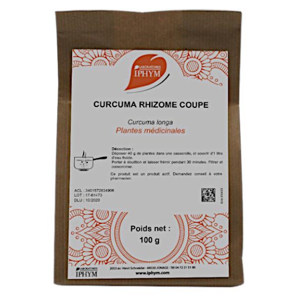 Iphym Curcuma Rhizome Coupée 100g
