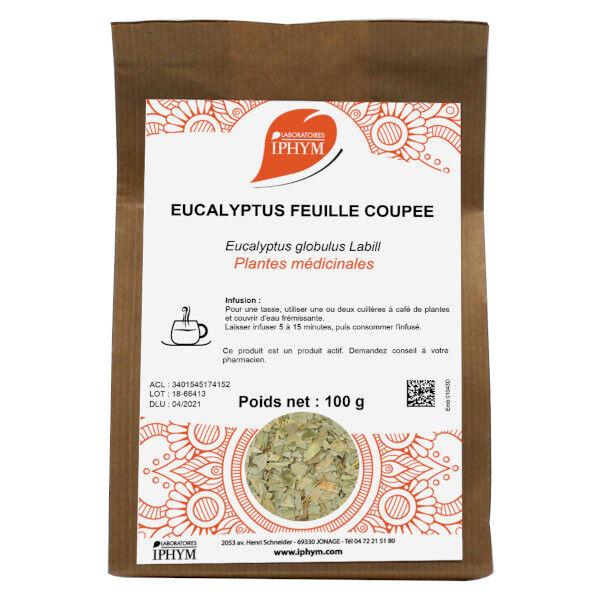 Iphym Vrac Eucalyptus Feuille Coupée 100g