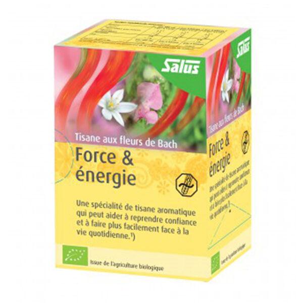 Salus Tisane Fleurs de Bach Force et Energie 15 sachets