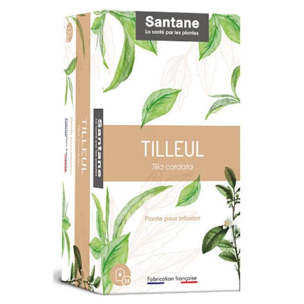 Santane Tilleul Tisane Plante pour Infusion 24 sachets