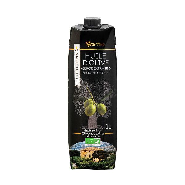 Quintesens Huile d'Olive Bio et Ecolo 1L