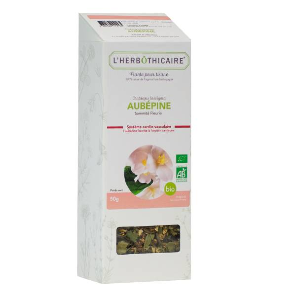 L' Herbothicaire L'Herbôthicaire Tisane Aubépine Bio 50g