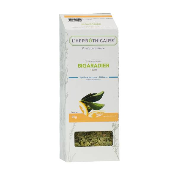 L' Herbothicaire L'Herbôthicaire Tisane Bigaradier Orange-Amère 50g