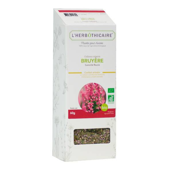 L' Herbothicaire L'Herbôthicaire Tisane Bruyère Bio 60g