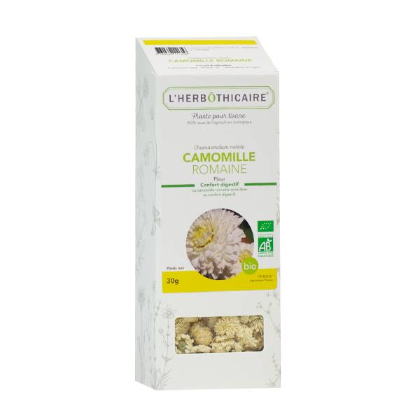 L' Herbothicaire L'Herbôthicaire Tisane Camomille Romaine Bio 30g