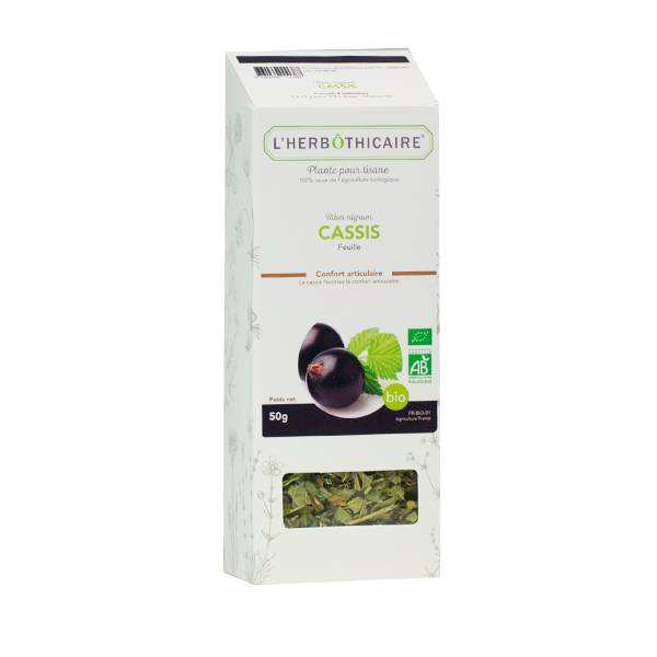 L' Herbothicaire L'Herbôthicaire Tisane Cassis Bio 35g