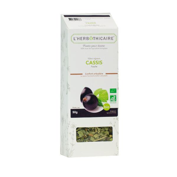 L'Herbôthicaire Tisane Cassis Bio 35g