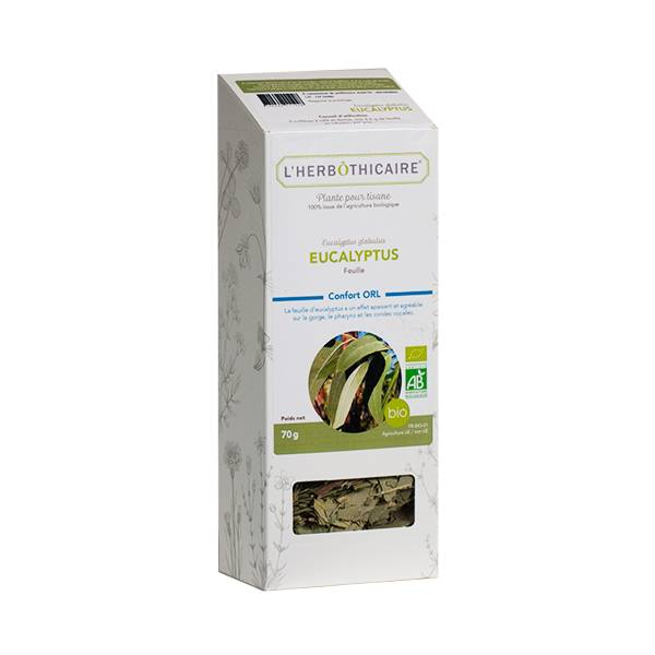 L' Herbothicaire L'Herbôthicaire Tisane Eucalyptus Bio 70g