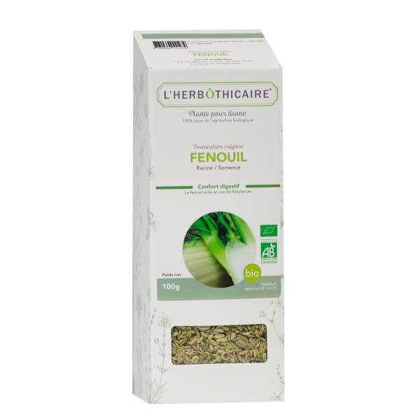 L' Herbothicaire L'Herbôthicaire Tisane Fenouil Bio 100g