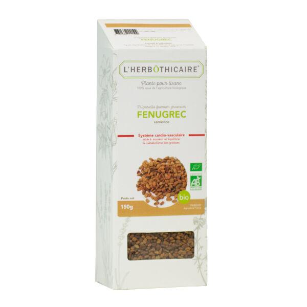 L' Herbothicaire L'Herbôthicaire Tisane Fenugrec Bio 150g