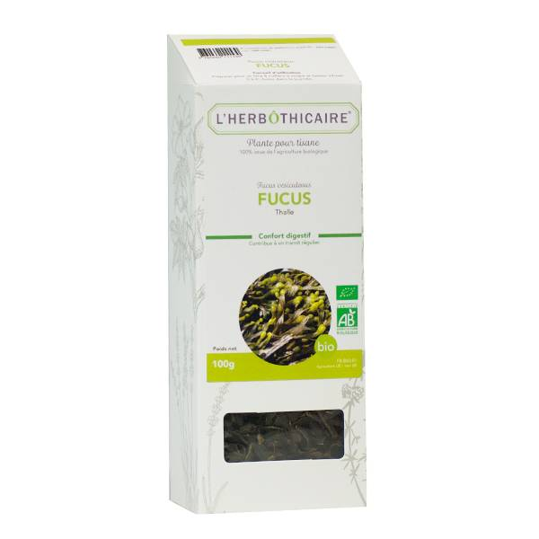 L' Herbothicaire L'Herbôthicaire Tisane Fucus Bio 100g