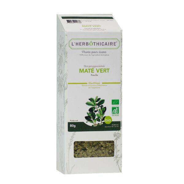 L' Herbothicaire L'Herbôthicaire Tisane Maté Vert Bio 80g
