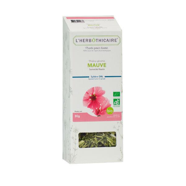 L' Herbothicaire L'Herbôthicaire Tisane Mauve Bio 30g