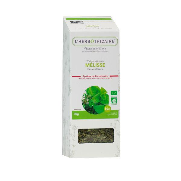 L' Herbothicaire L'Herbôthicaire Tisane Mélisse Bio 30g