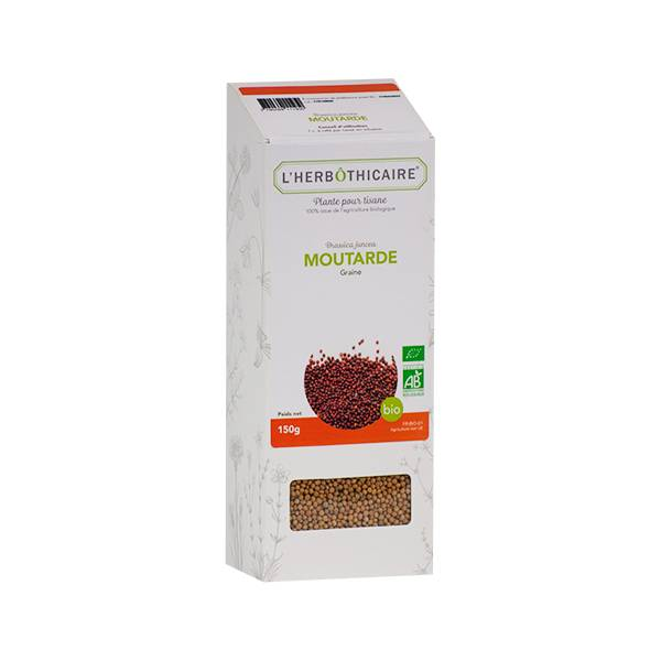 L' Herbothicaire L'Herbôthicaire Tisane Moutarde Bio 150g