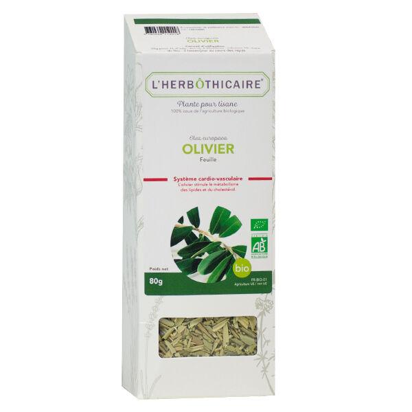 L'Herbôthicaire Tisane Olivier Bio 80g