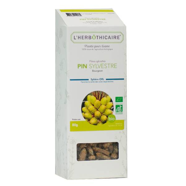 L' Herbothicaire L'Herbôthicaire Tisane Pin Sylvestre Bio 80g