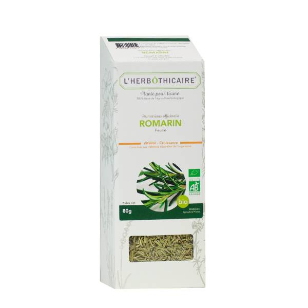 L'Herbôthicaire Tisane Romarin Bio 80g
