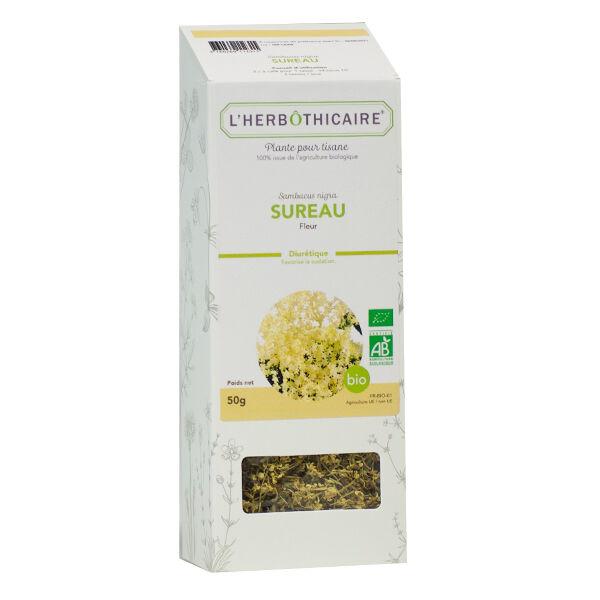 L' Herbothicaire L'Herbôthicaire Tisane Sureau Bio 50g