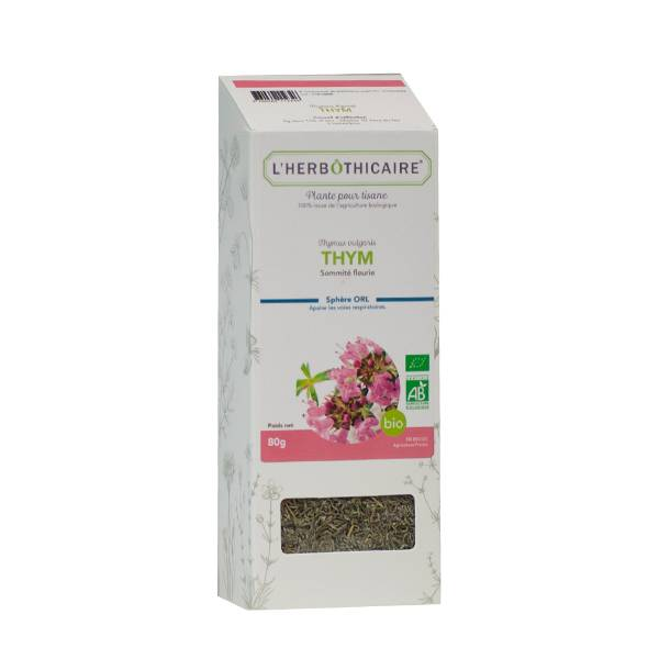 L' Herbothicaire L'Herbôthicaire Tisane Thym Bio 60g