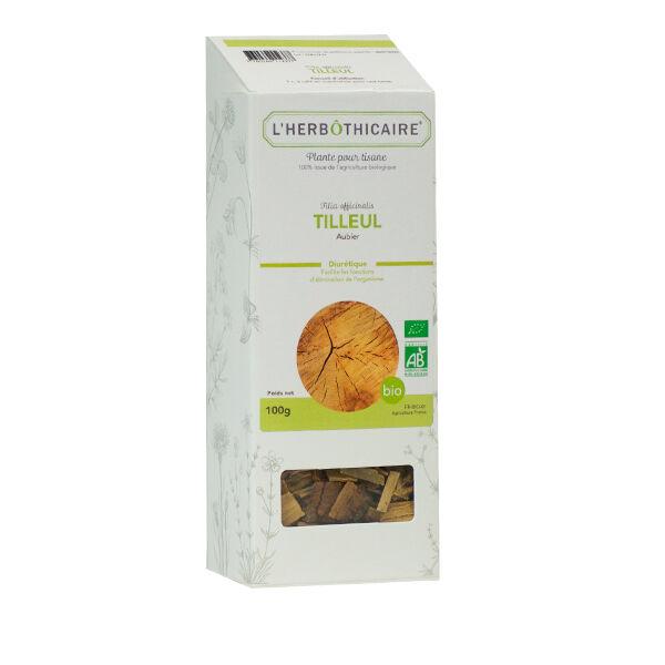 L' Herbothicaire L'Herbôthicaire Tisane Tilleul Aubier Bio 100g