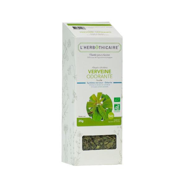 L'Herbôthicaire Tisane Verveine Odorante Bio 25g