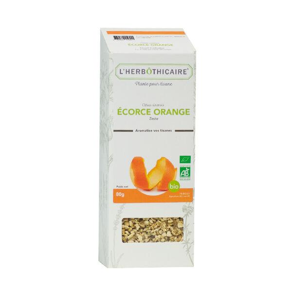 L'Herbôthicaire Tisane Orange Ecorce Bio 80g