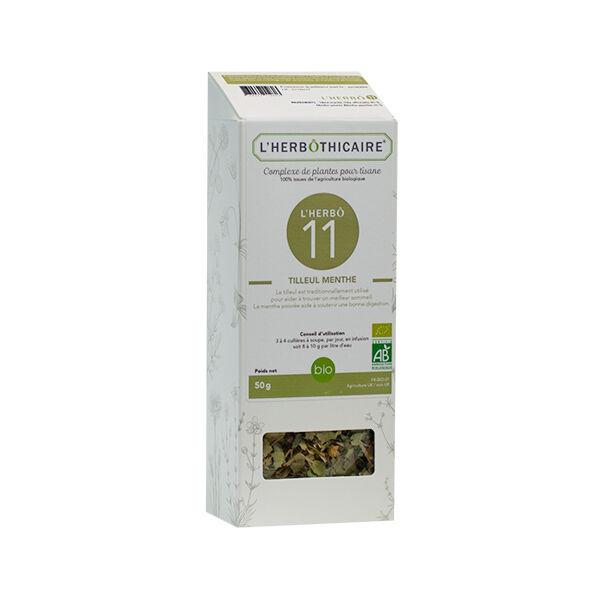 L'Herbôthicaire Tilleul / Menthe 50g