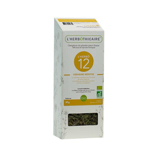 L' Herbothicaire L'Herbôthicaire Verveine / Menthe Poivrée 30g