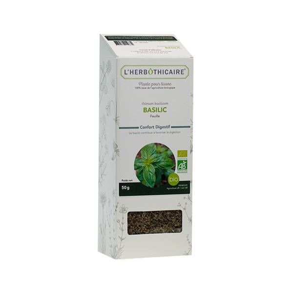 L' Herbothicaire L'Herbôthicaire Tisane Basilic 50g