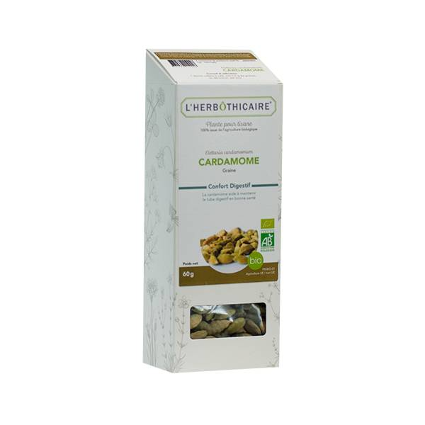 L' Herbothicaire L'Herbôthicaire Tisane Cardamome 60g