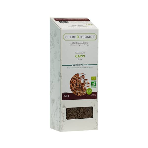 L' Herbothicaire L'Herbôthicaire Tisane Carvi 100g