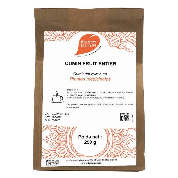 Iphym Vrac Cumin Fruit Entier 250g