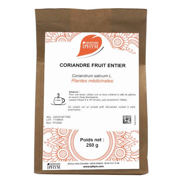 Iphym Vrac Coriandre Fruit Entier 250g
