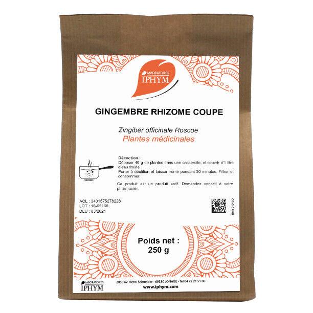 Iphym Vrac Gingembre Rhizome Coupée 250g