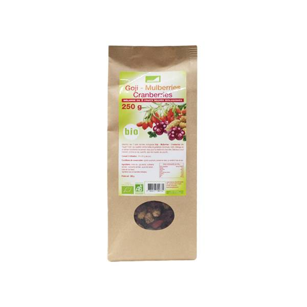 Exopharm Supra Food Mélange 3 Fruits Bio 250g