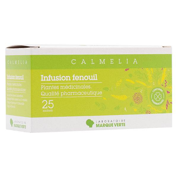 Marque Verte Infusion Fenouil 25 sachets