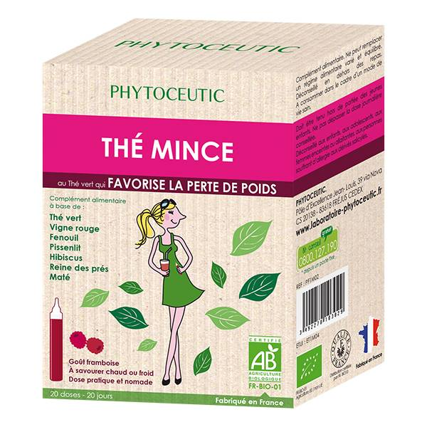 Phytoceutic Bio Thé Mince 20 doses