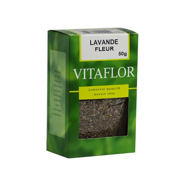 Vitaflor Bio Vitaflor Infusion Lavande Fleur 50g