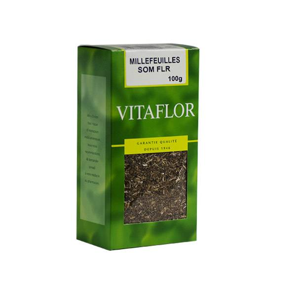 Vitaflor Bio Vitaflor Infusion Millefeuilles Sommité Fleurie 100g
