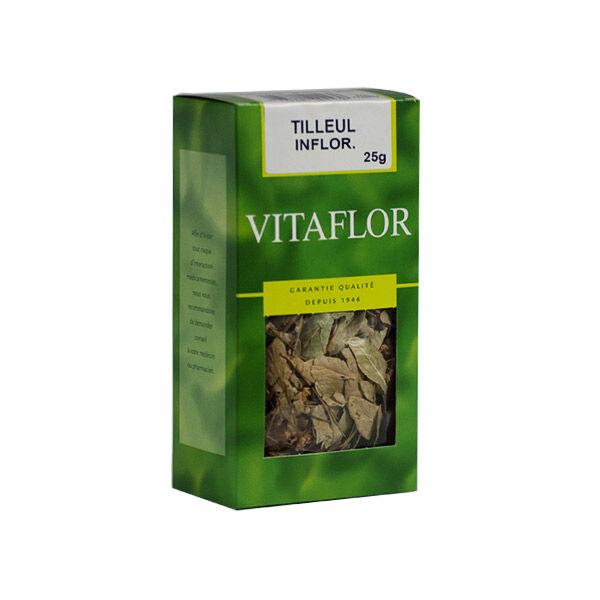 Vitaflor Bio Vitaflor Infusion Tilleul Inflorescence 25g